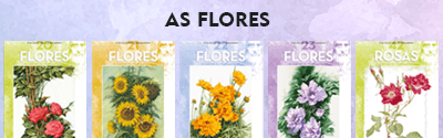 Coleção Leonardo- As Flores