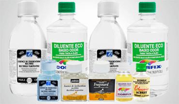 diluentes e solventes
