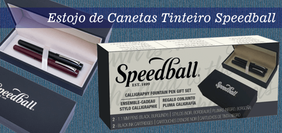 Estojo Caneta Tinteiro Speedball