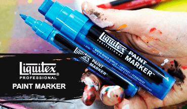 Marcadores Liquitex Paintmarker