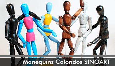 Manequins Coloridos Sinoart