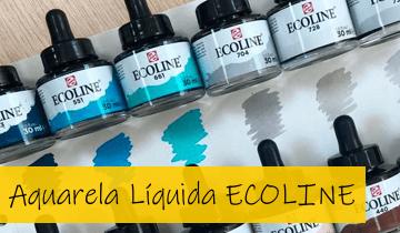 Aquarela Líquida Ecoline
