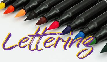 Canetas para Lettering