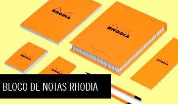 Conjuntos Bloco de Notas Rhodia