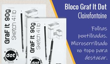 Bloco para Desenho Graf It Dot Clairefontaine