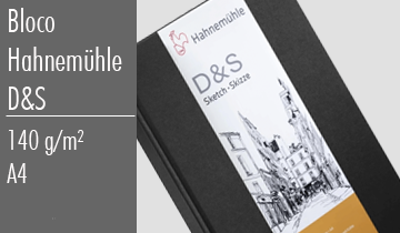 Bloco Sketchbook D&S Hahnemulher