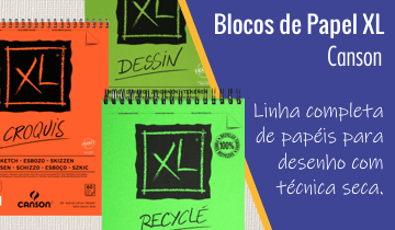 Bloco Papel Canson XL