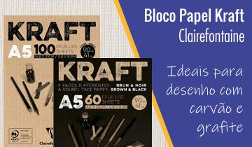 Bloco para Desenho Kraft Clairefontaine