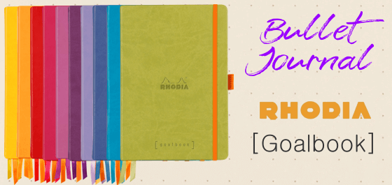 Bullet Journal Rhodia Goalbook