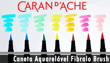 caneta Fibralo Brush