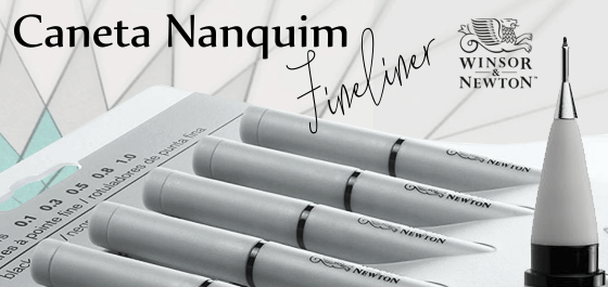 Caneta Nanquim Fineliner Winsor & Newton