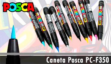 Caneta Posca Ponta Pincel