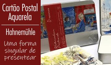 Cartão Postal para Aquarela