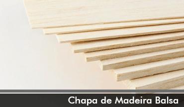 Chapa Madeira Balsa