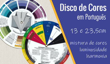 Disco de Cores em Português