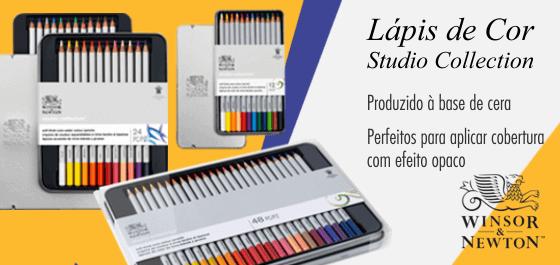 Estojo Lápis de Cor Studio Winsor & Newton