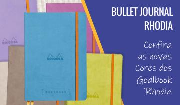 Bullet Journal Goalbook Rhodia