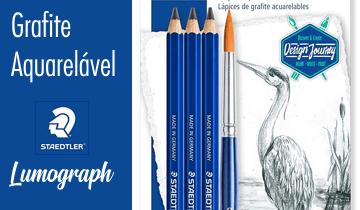 Lápis Grafite Aquarelável