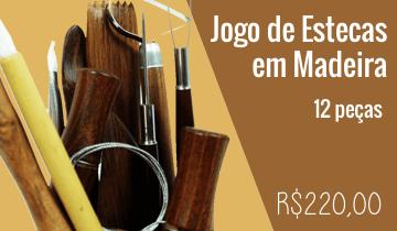 Estecas para Modelagem de Madeira