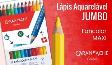 Lápis Aquarelável Jumbo Caran D'Ache