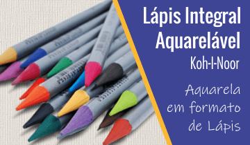 Lápis Integral Aquarelável Koh-I-Noor