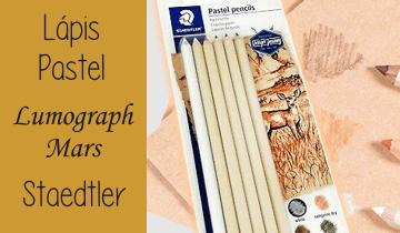 Lápis Pastel Staedtler Mars Lumograph