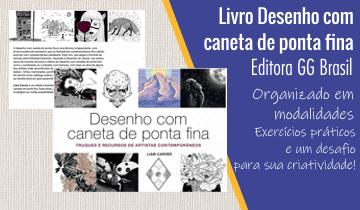 Livro Desenhar com Caneta Ponta Fina