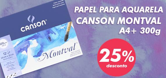 Bloco Aquarela Canson Montval
