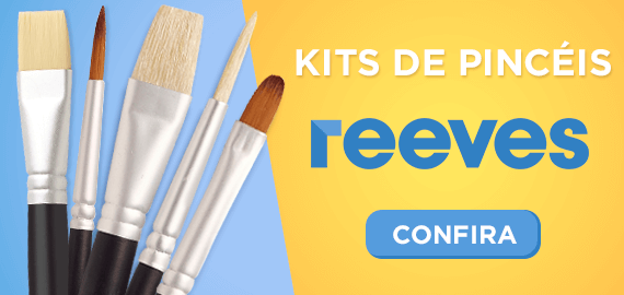 Kits de Pinceis Reeves