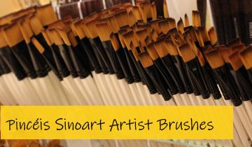 Pincéis Sinoart Artist Brushe