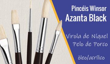 Pincéis Winsor & Newton Azanta Black