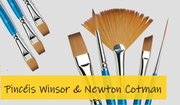 Pincéis Winsor & Newton Cotman