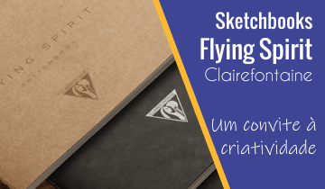 Sketchbook Clairefontaine Flying Spirit