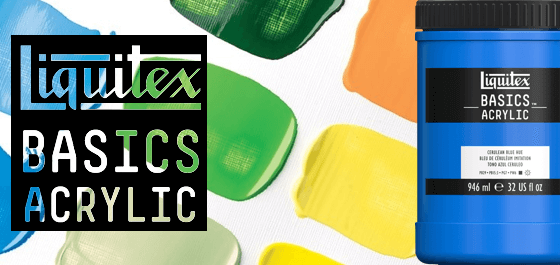 Tinta Acrílica Liquitex Basics