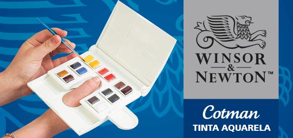 Aquarela Winsor & Newton Cotman Compact Set