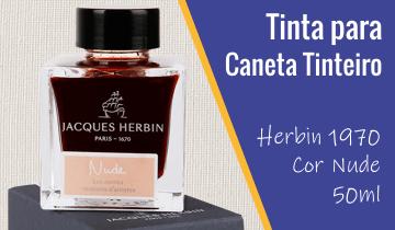 Tinta Caneta Tinteiro Herbin 1970 Nude