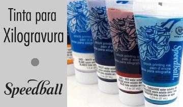 Tinta para Xilogravura Speedball