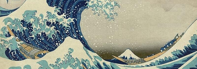 La Gran Ola de Kanagawa – Hokusai