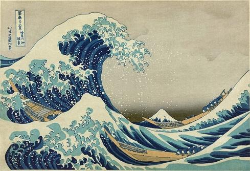 La Gran Ola de Kanaguawa – Hokusai, 1831