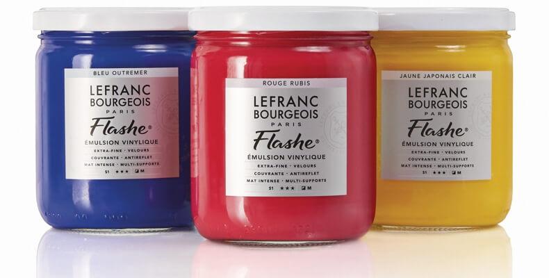 Tinta Flashe Lefranc 400ml