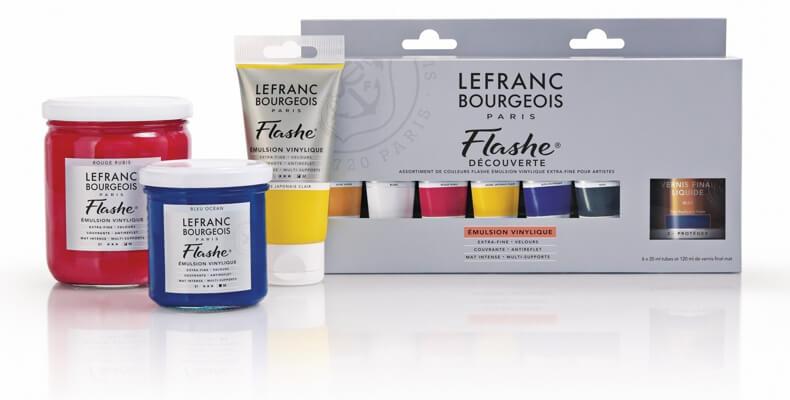 Tinta Vinílica Flashe Lefranc