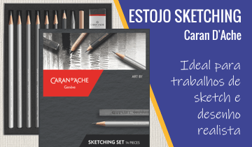 Estojo Sketching Caran D'Ache