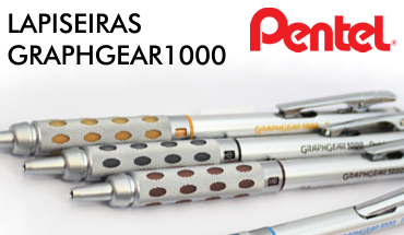 Lapiseira Pentel Graph1000