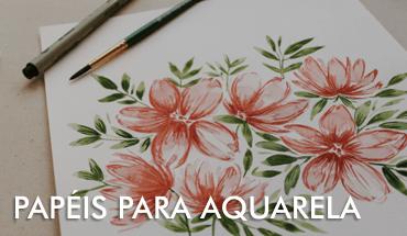 Papéis para Pintura Aquarela