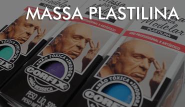 Massa Plastilina para Modelar