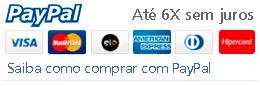 PayPal 6X sem Juros