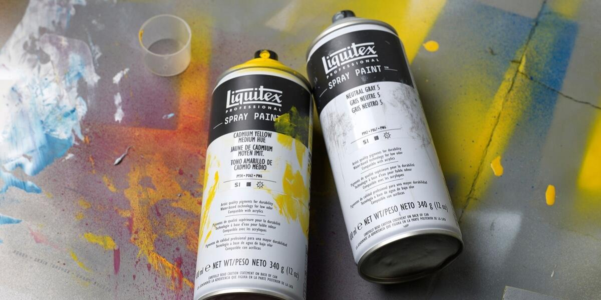Tinta Spray Liquitex