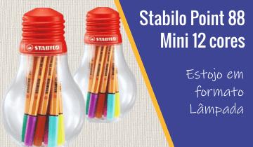 Caneta Stabilo Point 88 Mini